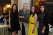 SKLD Youth Achievement Award Winners having fun at the selfie station with cutout of SKLD Honorary Chairman, Henry Winkler