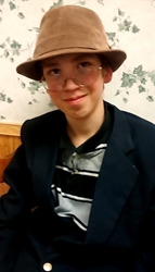 Dorran Godfrey, aged 13, Discusses His Goals to Study Music at Interlochen and Julliard