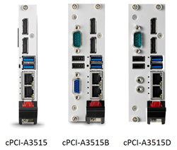 ADLINK's cPCI-A3515, the company's first product in a new series of CompactPCI® Serial processor blades - ADLINK Technology