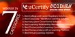 uCertify wins 7 CODiE Awards for online education programs