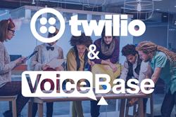 twilio api voicebase