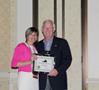 Tindall's VP of Human Resources Honored with Honorary Lifetime Membership Award