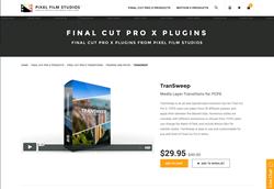 TranSweep - FCPX Plugin - Pixel Film Studios