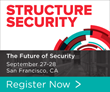 New Structure Security Conference to Take Place September 27-28 in San Francisco