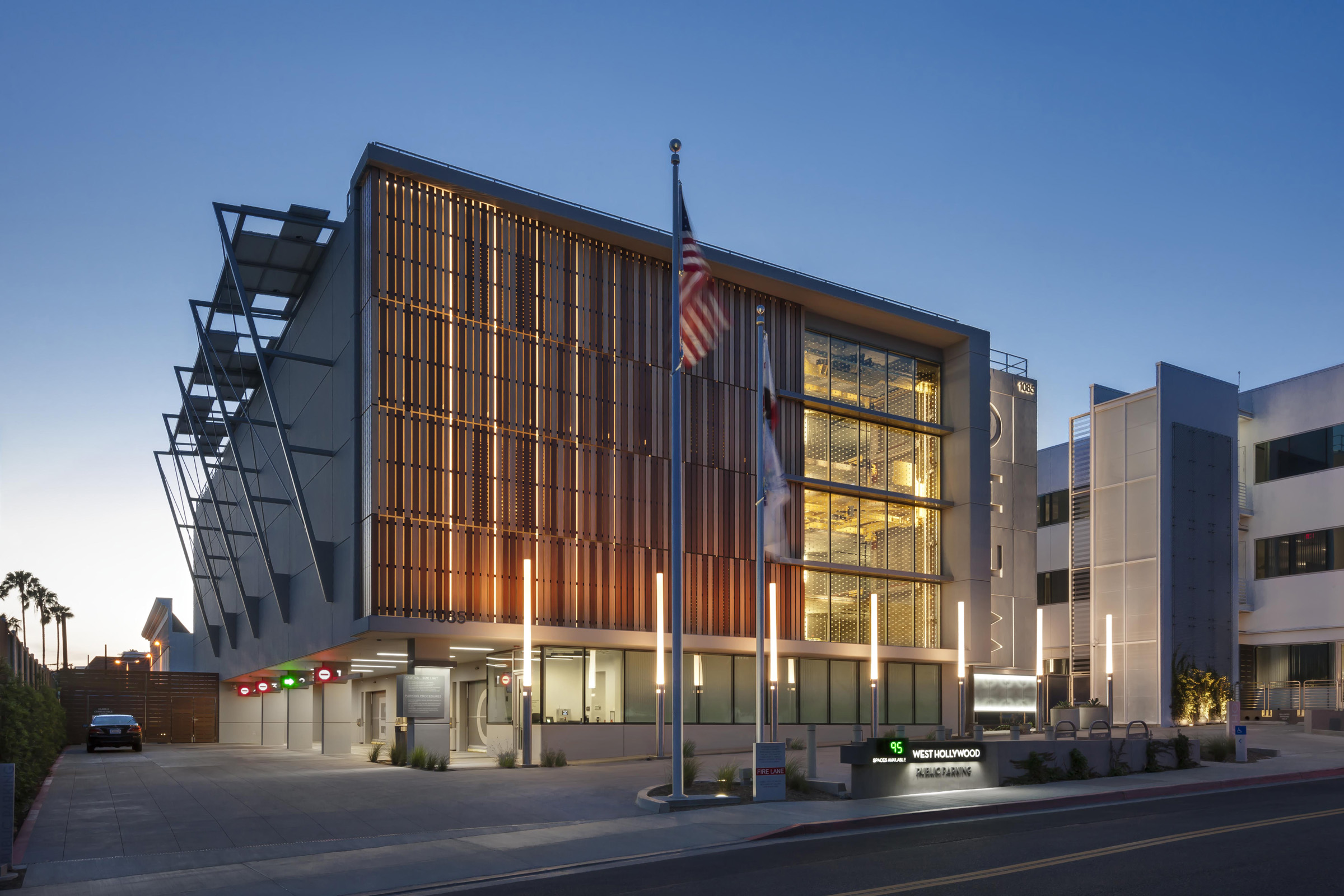 West Hollywood Debuts Automated Parking Garage Designed By
