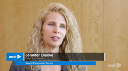 World Economic Forum chief economist Jennifer Blanke discusses her macroeconomic outlook with Asset TV.