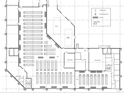 Data Center Layout Drawing