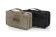 Duo Dopp Kit—brown waxed canvas or black ballistic nylon
