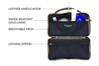 Duo Dopp Kit—inside view