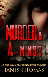 A Triple-M Genre Novel: Musical Murder Mystery Murder in A-Minor by Janis Thomas detective sleuth female whodunnit best seller author Penguin