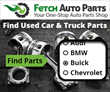 Get Affordable and Quality Used Car Parts at Fetch Auto Parts