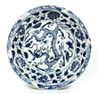 Chinese Ming Dynasty Blue and White Charger