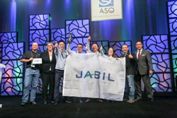 The teams were recognized at ASQ's World Conference on Quality and Improvement in Milwaukee, Wis.