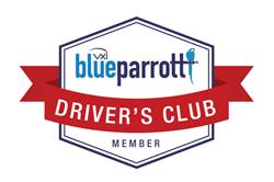 BlueParrott Driver's Club Logo