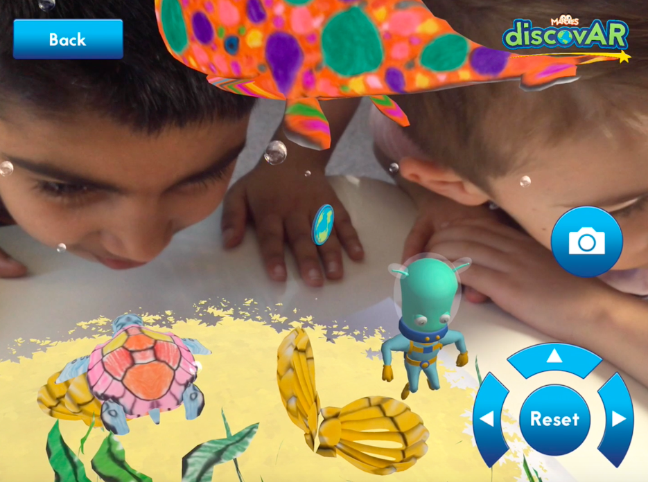 Bring Your Coloring To Life In 4D With DiscovARcoukThe Worlds First Augmented Reality And Virtual Educational Book