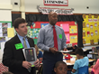 For the Seventh Consecutive Year BlumShapiro Employees Turn Into Teachers at Webster Hill Elementary School