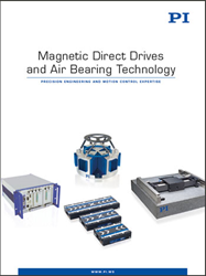 New Magnetic Direct Drives & Air Bearing Technology Catalog