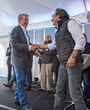 "Idaho Governor C.L. ""Butch"" Otter commended Chobani's founder and CEO Hamdi Ulukaya on his confidence in the state."