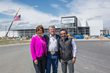 "From left to right: Lori Otter, Governor C.L. ""Butch"" Otter, Chobani Founder and CEO Hamdi Ulukaya."