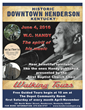 "Historical Walking Tour with ""Father of Blues"" Presented by Depot Community Room"