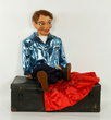Ventriloquist Dummy in Suitcase