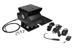 Remote Controlled Pan Tilt Base with Mounting Plate