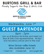 Burtons Grill & Bar kicks off Partnership with the Boys & Girls Club June 1st