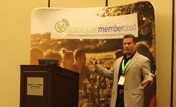 Paul Schneider, Socious CEO, Announcing their MemberCloud Association Management Software Platform