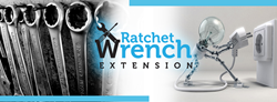 The Ratchet Wrench Extension is a utility patent that will ultimately deem the traditional socket wrench outdated.