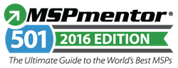 2016 MSPMentor Global 501 List