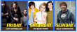 Lady Antebellum headlines on June 3, The Band Perry headlines on June 4 and Billy Currington headlines on June 5.