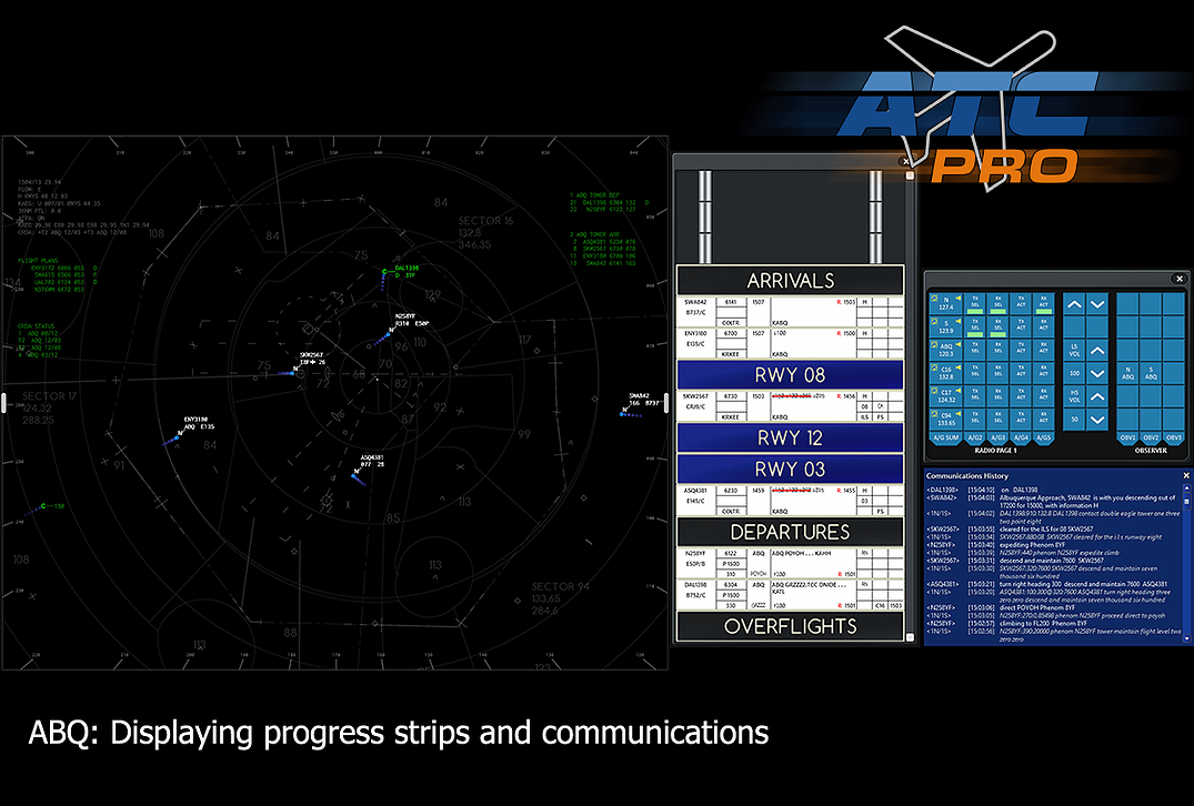 Flight One Software Releases ATCPro STARS Terminal