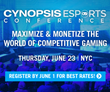 Cynopsis eSports Conference Unites Top Marketers, Brands, Owners & Publishers