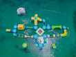 Splash Island Water Park Aerial View 2