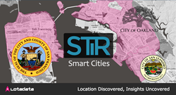 Smart Cities get smarter with LotaData's mobile location data science.