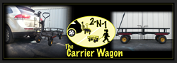 The Carrier Wagon is perfect for carrying and delivering cargo with the use of a regular vehicle.