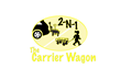the Carrier Wagon can be easily detached from the vehicle and lugged around with the use of the handle.