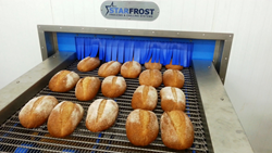 Gilsons Bakery's new energy efficient bread freezer from Starfrost