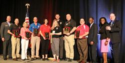 The DEA presents Enrique 'Kiki' Camarena Awards to six Young Marines units