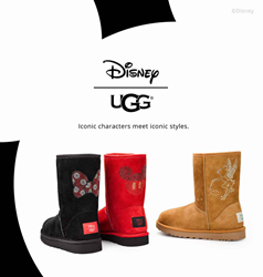 Disney UGG Collection at Footwear etc.