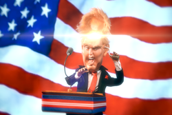 Flipping Donald Trump's Lid