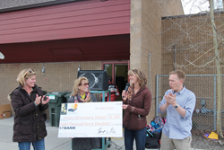 BGV awards Frisco Elementary School with a substantial grant this spring.