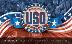USO 75th Anniversary Fundraiser sponsored by Love Lane Radio
