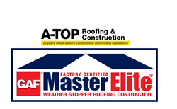 A Top Roofing   GAF Master Elite Contractor