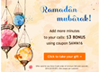 Ramadan bonus for TelephonePakistan.com customers: $3 gift for longer international calls to Pakistan