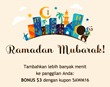 This Ramadan, TeleponIndonesia.com offers $3 extra credit for longer international calls to Indonesia