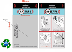 RF Safe Phone Radiation Case Package Recycled Plastic Design Front and Rear