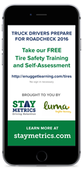 Roadcheck 2016 - Tire Safety Training from Stay Metrics