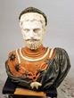 Mixed Marble Bust, lot 2076