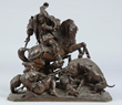 Gechter Bronze Sculpture, lot 2073